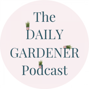 The Daily Gardener FB Page Plant Ledge Logo