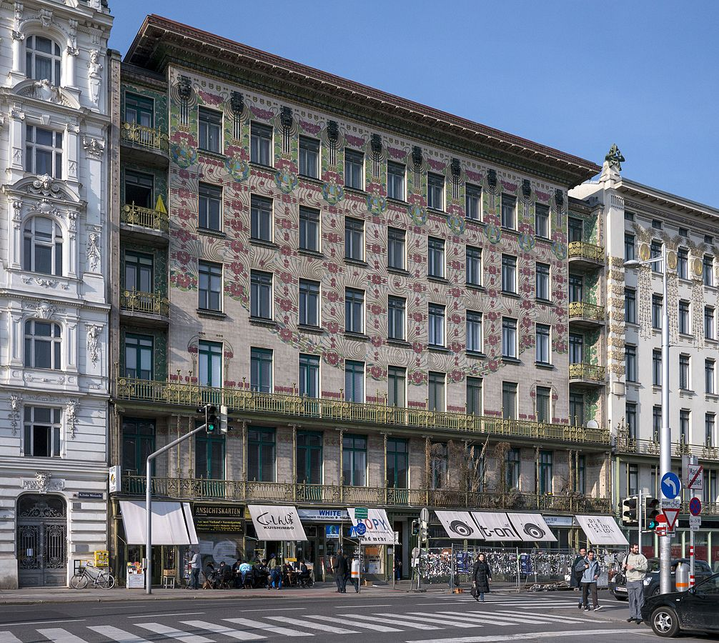 Majolikahaus in Vienna