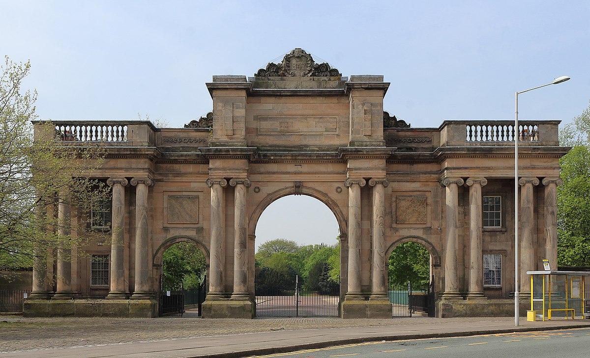 Birkenhead Park Grand Entrance