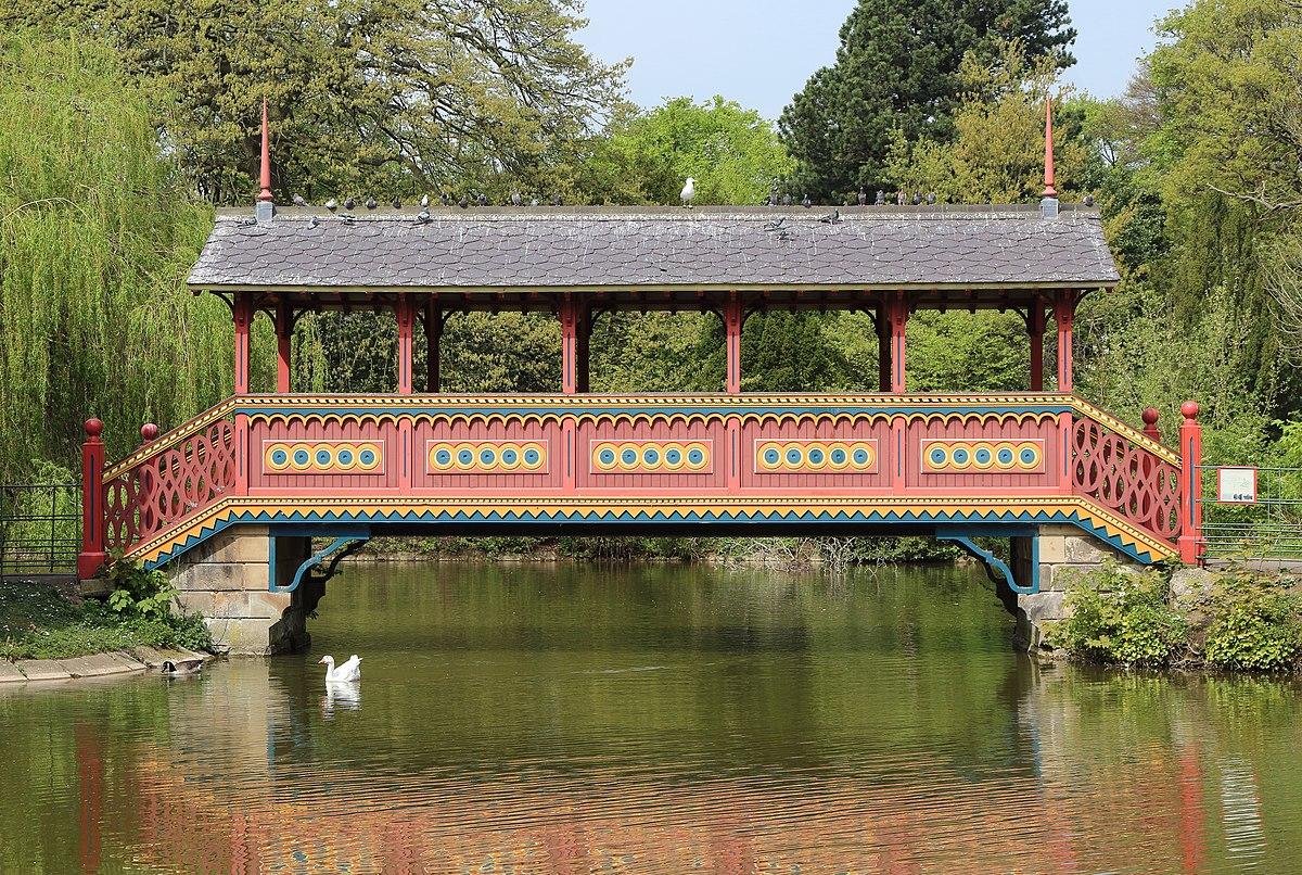 Birkenhead Park Swiss Bridge