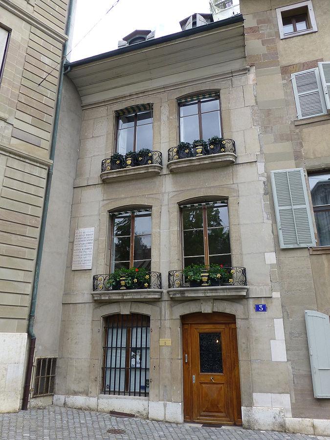 Home of Alphonse Pyramus de Candolle