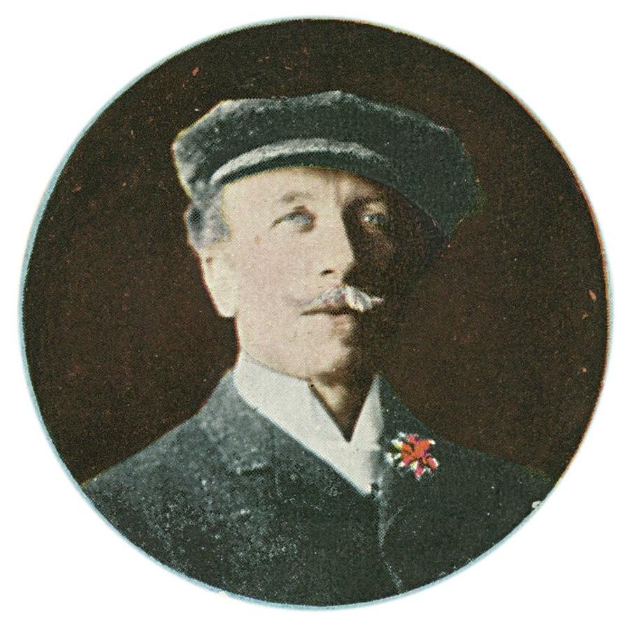 Paul de Longpré 1909