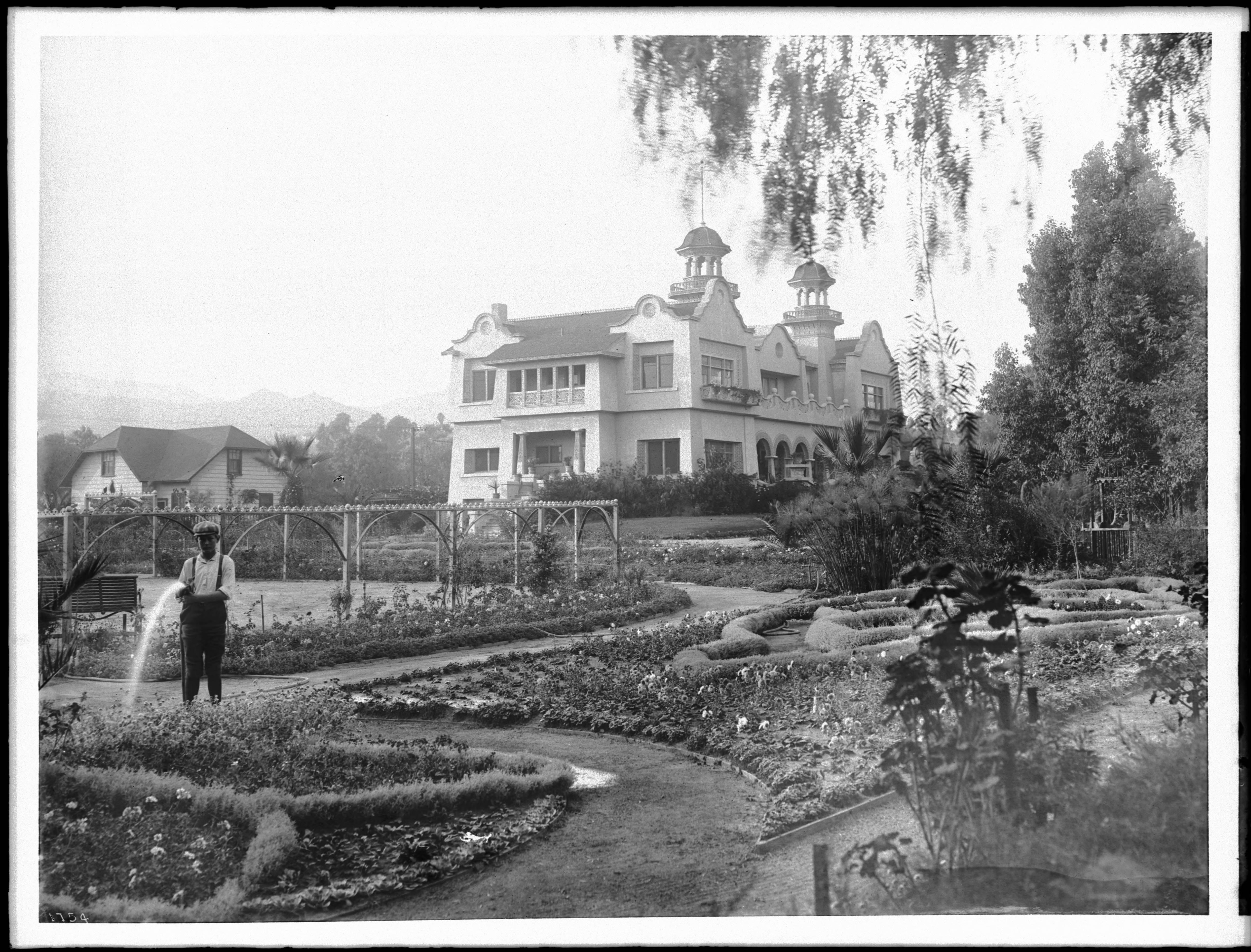 The Paul de Longpré Villa and Grounds