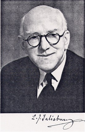 Sir Edward Salisbury photo from obituary