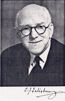 Sir Edward Salisbury photo from obituary
