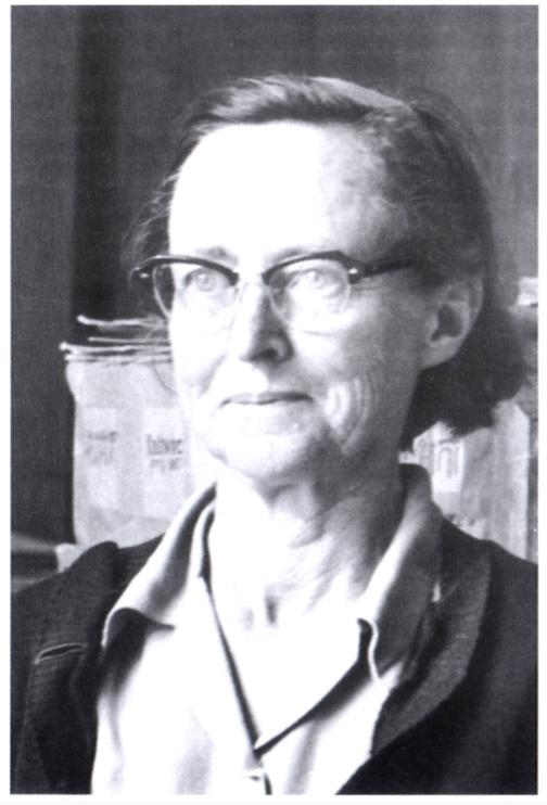 Elsie Esterhuysen, taken in the Bolus Herbarium in 1962 (photograph by J.P. Jessop)