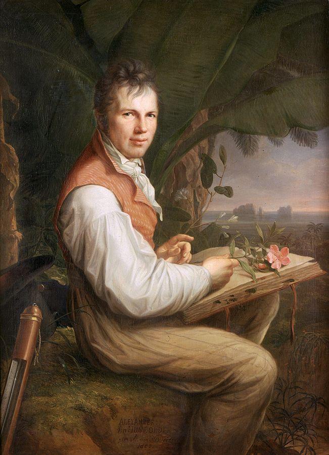 Alexander Von Humboldt by Weitsch
