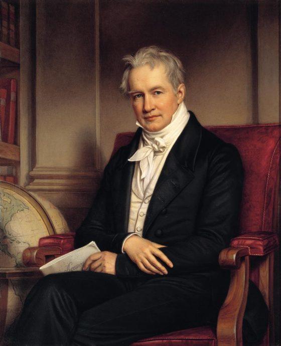 Alexander Von Humboldt 1834