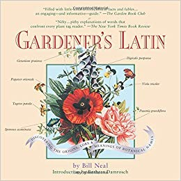 Gardener's Latin by Bill Neal