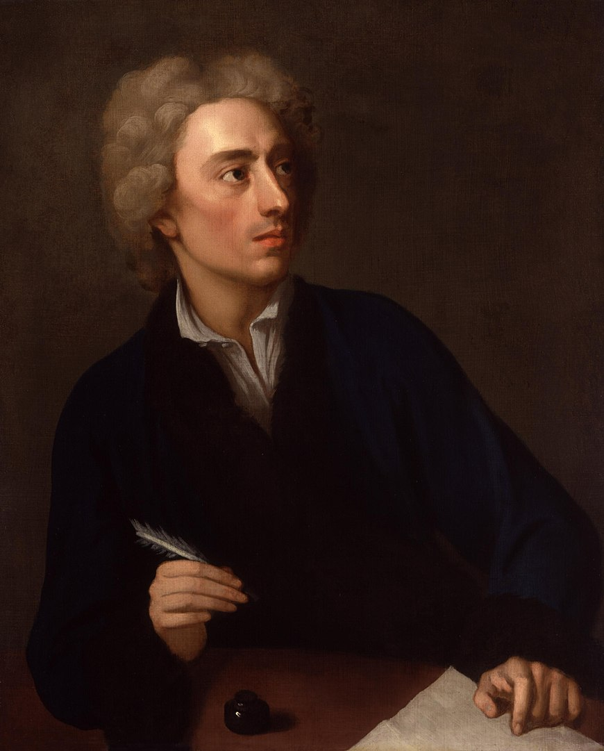 Alexander Pope by Michael Dahl