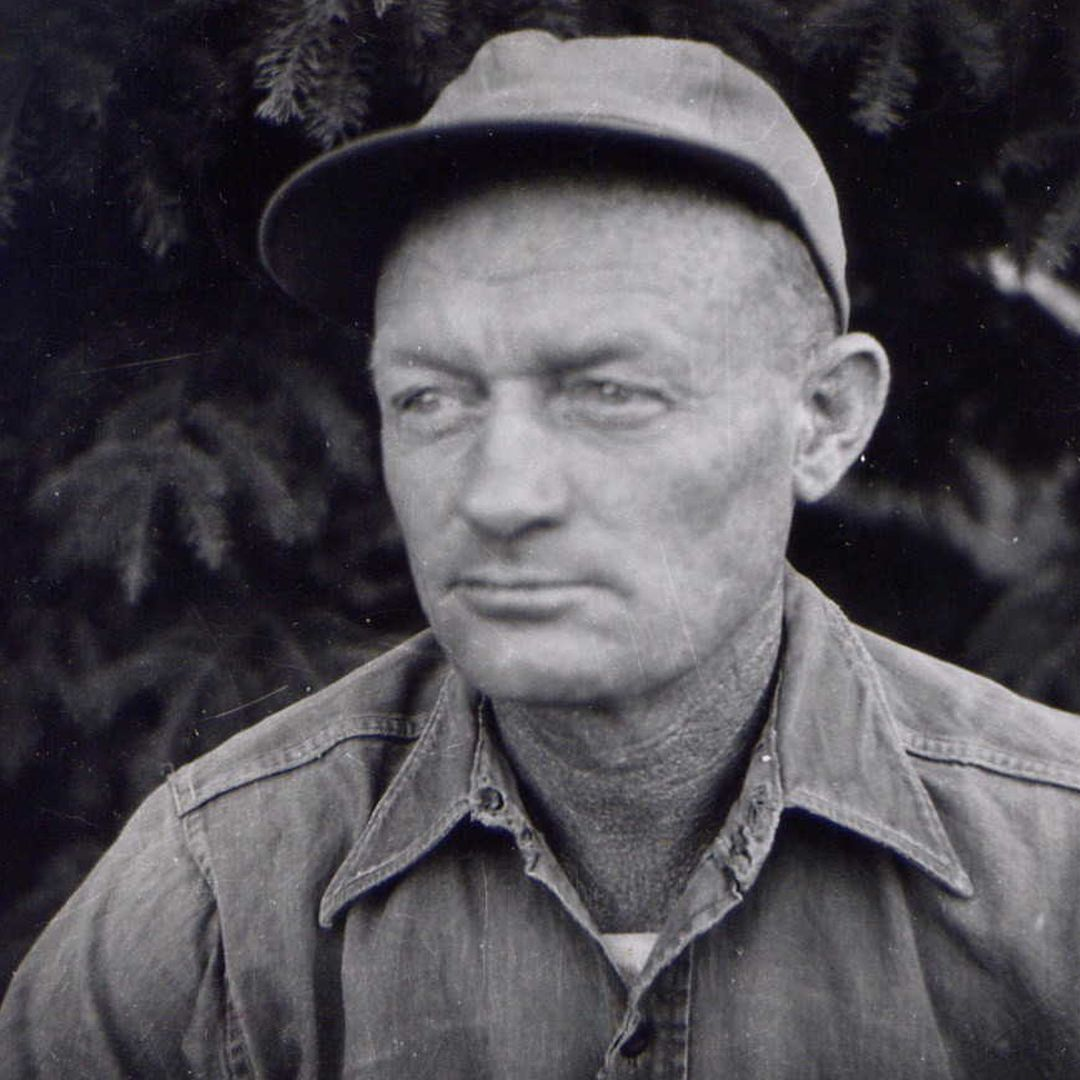Melvin Bergeson in 1955