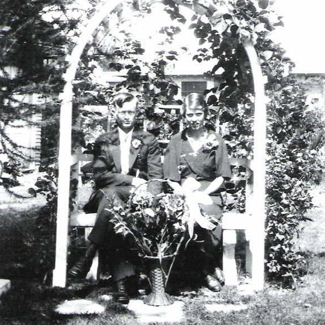 Melvin & Olga Bergeson in 1933