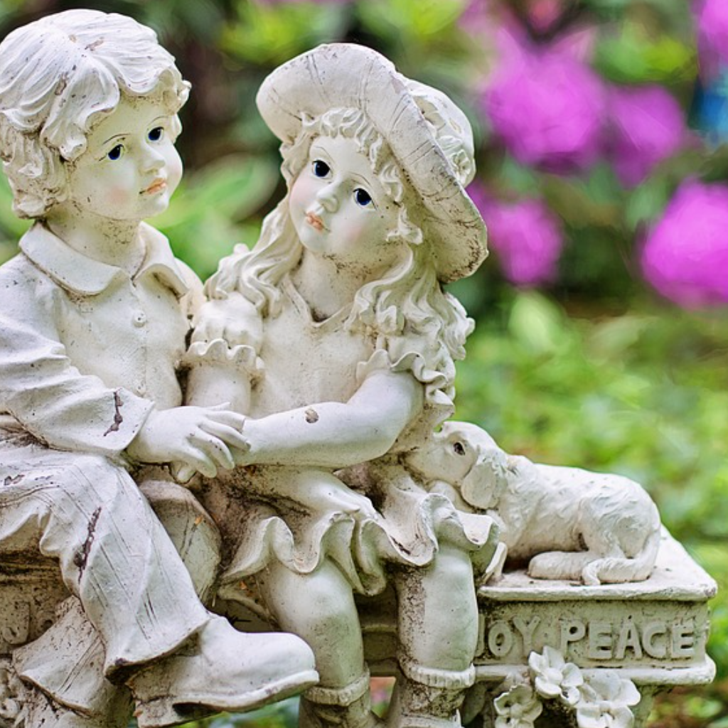 Pure as the Joy a Garden Gives