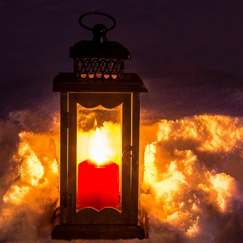 A February Fire