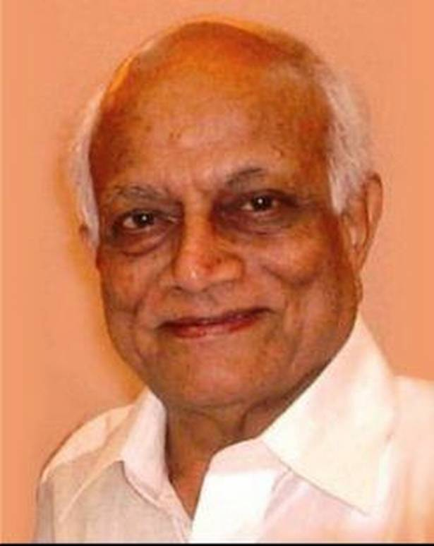 Professor Holenarasipur Yoganarasimham Mohan Ram (H.Y. Mohan Ram).