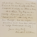 Hewett Cottrell Watson's letter to Charles Darwin
