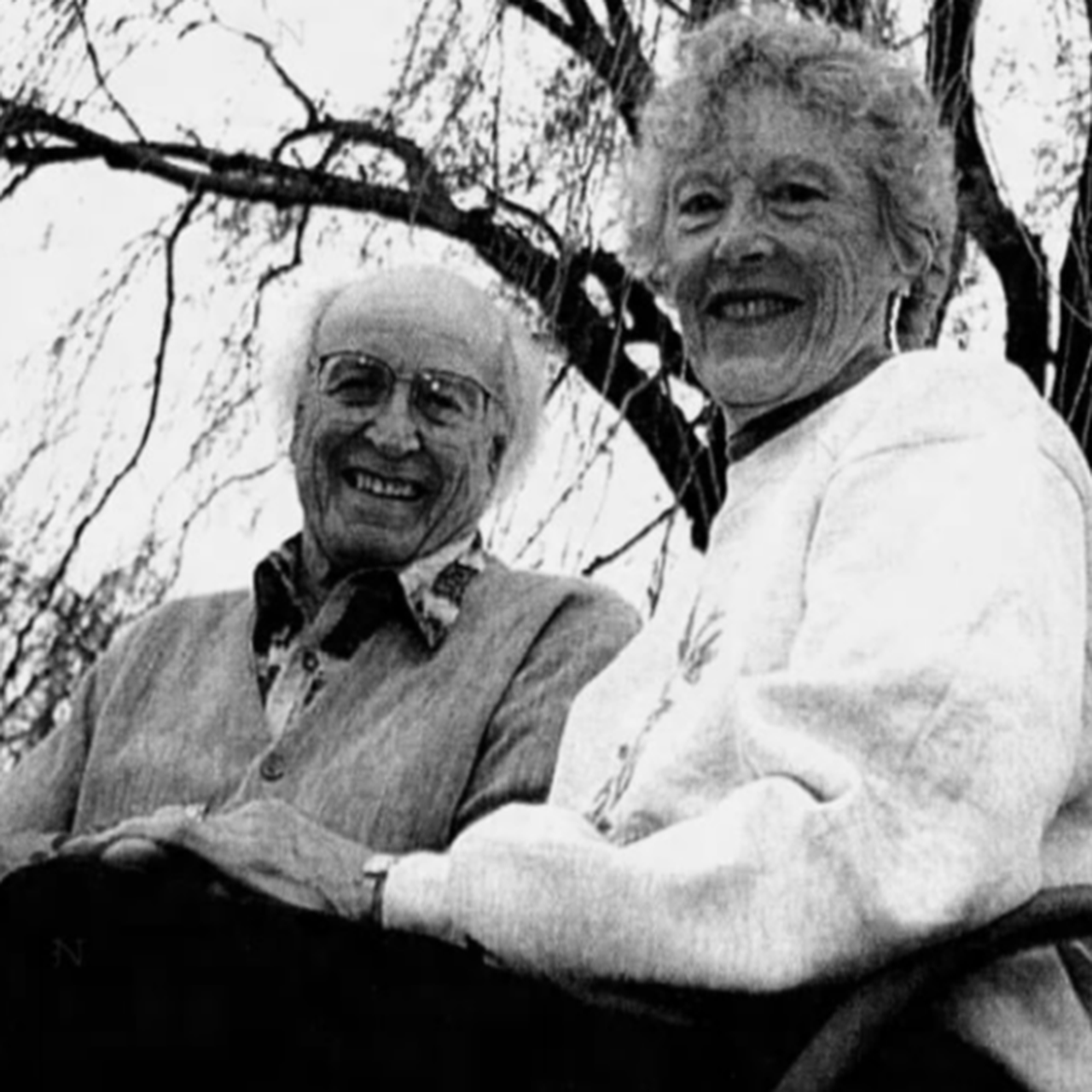 Robert and Frances Bickelhaupt on the 25th Anniversary of the Arb