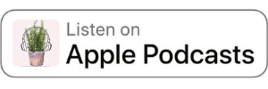 Apple Podcasts Badge for The Daily Gardener