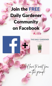 The Daily Gardener Facebook Group