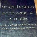 Aphra Behn Grave